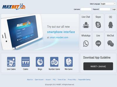 Maxbet iPhone , Maxbet Mobile