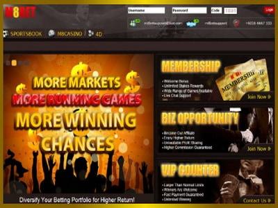 M8bet Sportsbook Online