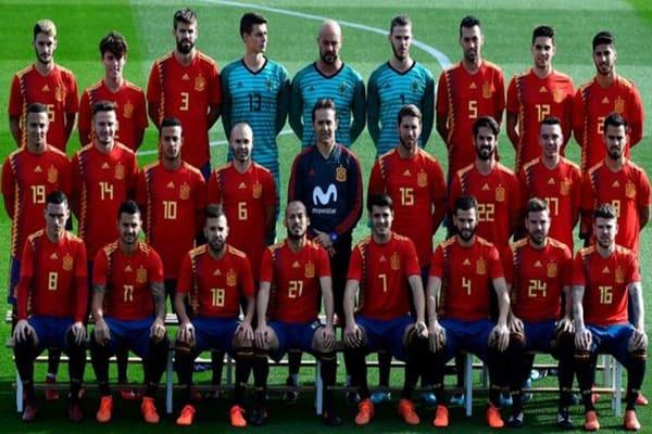 ทีมชาติสเปน 2018